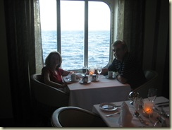 Dinner in the Grand E restaurant