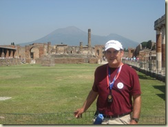 Pompeii - Me and Vesuvius