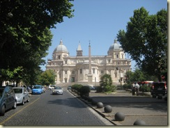 Santa Maria Maggiorie from Piazza Esquiliino