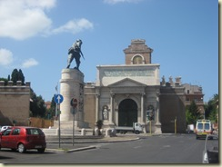 Rome - Porta Pia and War Memorial