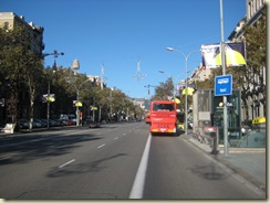 Passeig Gracia looking North