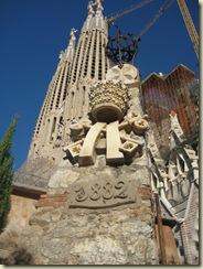 Sagrada Familia cornerstone
