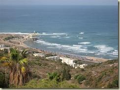 Haifa Beach and Train (Small)