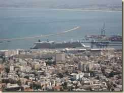 Equinox in Haifa Harbor (Small)