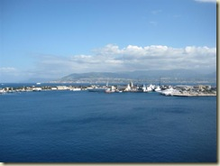 Messina Harbor and Mainland Italy (Small)