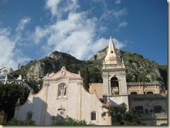 Taormina Church and Acropolis (Small)