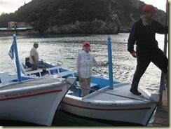 Corfu Paleokastritsa E on boat (Small)