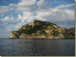 Corfu Paleokastritsa Monkey Head Rock (Small)