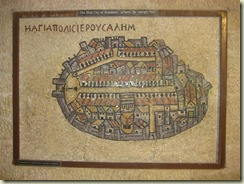 Mosaic Map Jewish Quarter (Small)