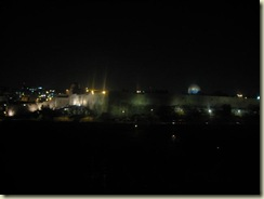 Temple Mount at Night (Small)