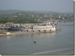 Fort guarding Cartagena Bay (Small)