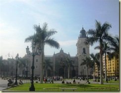Cathedral Main Square Lima (Small)