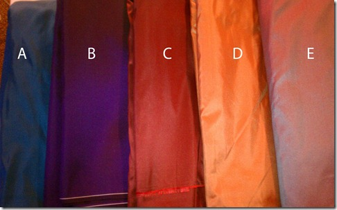 fabric options