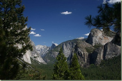 10 - In ons eerste Nationale Park, Yosemite. Mooie vergezichten