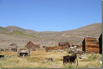 14 - Een oud verlaten goudzoekersstadje