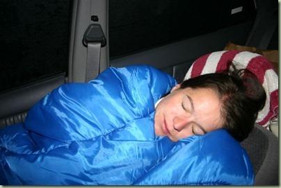 57 - Tot de tent ging lekken en we in de auto moesten slapen