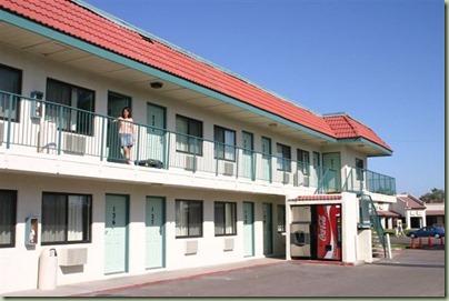 58 - Toch maar snel een motelletje opzoeken de dag erna