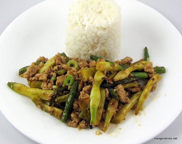 Szechuan Green Beans with Pork