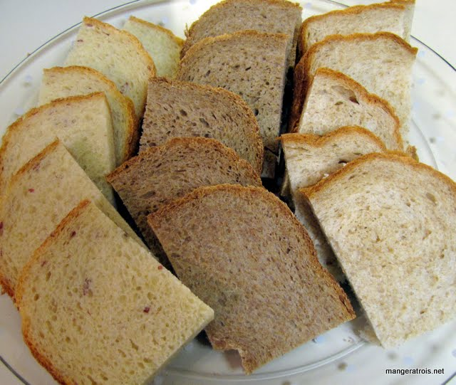 Sesame-Wheat Bread