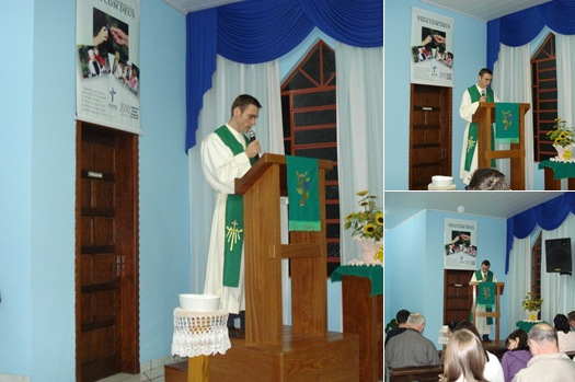 Exibir pastor Rafael