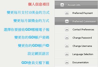 GDI後台中文