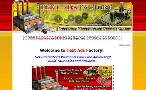 Text Ads Factory money