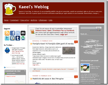 kaeel blog old layout