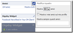 facebook screenshot riquadro amici