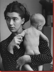 ruth orkin mother and baby 1949