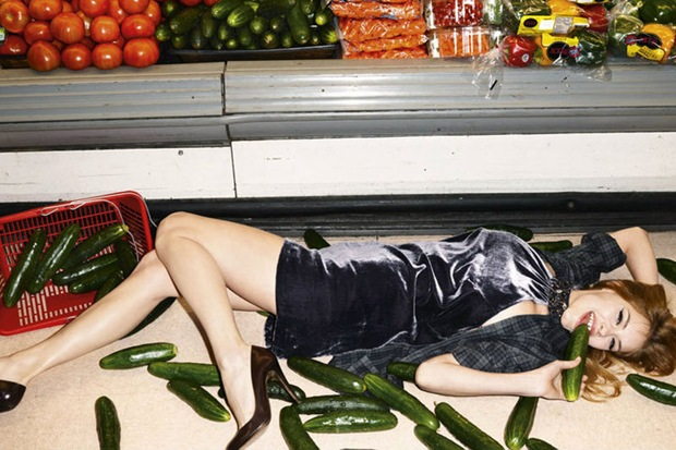 Sisley Fall 2010 Campaign . Ashley Smith by Terry Richardson5