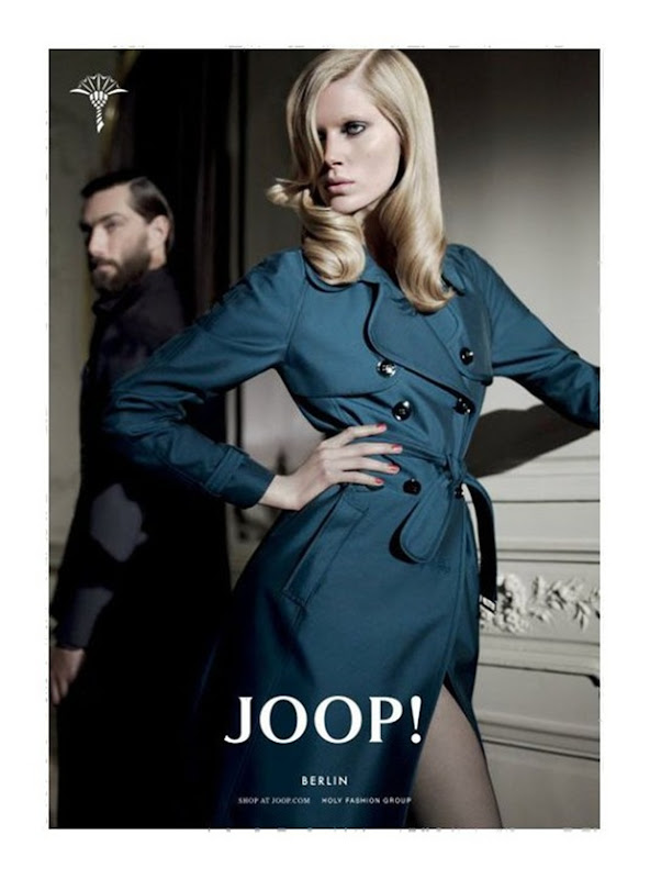 Joop! Fall 2010 Campaign  Iselin Steiro by Glen Luchford