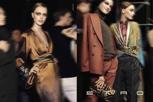 ETRO Fall Winter 2010.11 Campaign 16