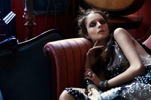 Suzie Bird by Chloe Crespi for Harper's Bazaar Spain Sept10