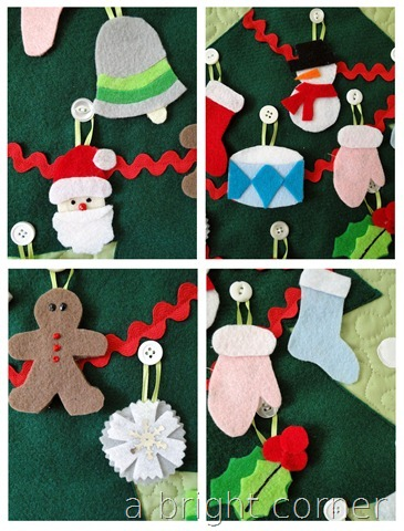 ornaments for advent calendar
