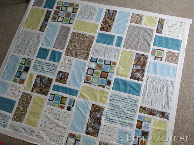 Jack's Blocks quilt pattern from A Bright Corner