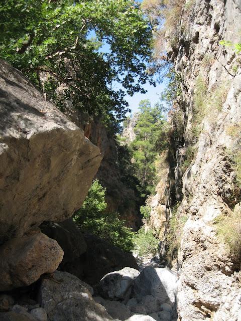 Blog de voyage-en-famille : Voyages en famille, Les gorges d'Irini