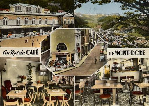 Cartes Postales Pop et  Kitsch des années 50, 70 et 70 Hotels et résidences
