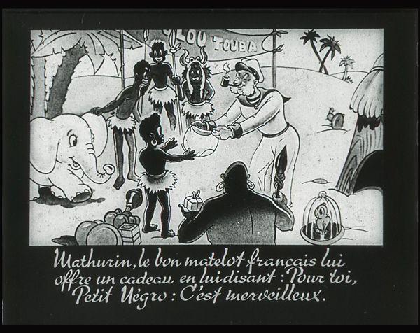 Films fixes et publicités de quartier (educational filmstrips) sur www.filmfix.fr : Le talisman de Petit Négro