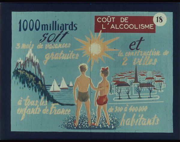 Films fixes et publicités de quartier (educational filmstrips) sur www.filmfix.fr : Alcool et alcoolisme