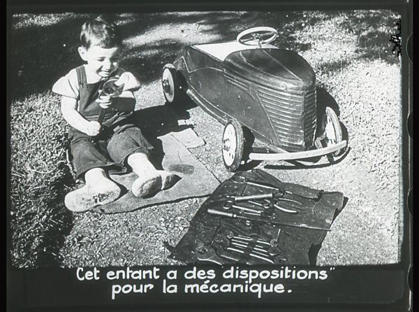 Films fixes et publicités de quartier (educational filmstrips) sur www.filmfix.fr : La confirmation - Retraite préparatoire