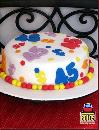 bolo números, bolo decorado, bolo pasta americana, bolo sem tema, bolos fabiana correia, bolos maceió-AL 2