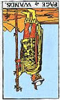Page of Wands (Reversed)