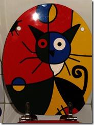 WC-Sitz mit Katzenmotiv