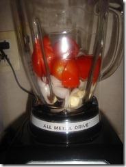 Mejor los tomates abajo