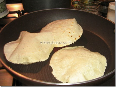 TORTILLAS RECIEN HECHAS