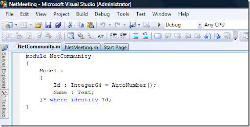 Visual Studio January 2009