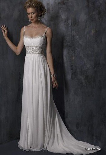A perfect summer wedding dress