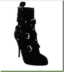 Women - All - Giuseppe Zanotti Design Suede Buckle Boots_1262128091220