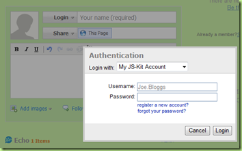 JS-KIT AUTHENTICATION