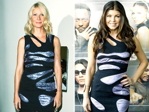 gwyneth paltrow v fergie Gwynoth Paltrow vs Fergie.